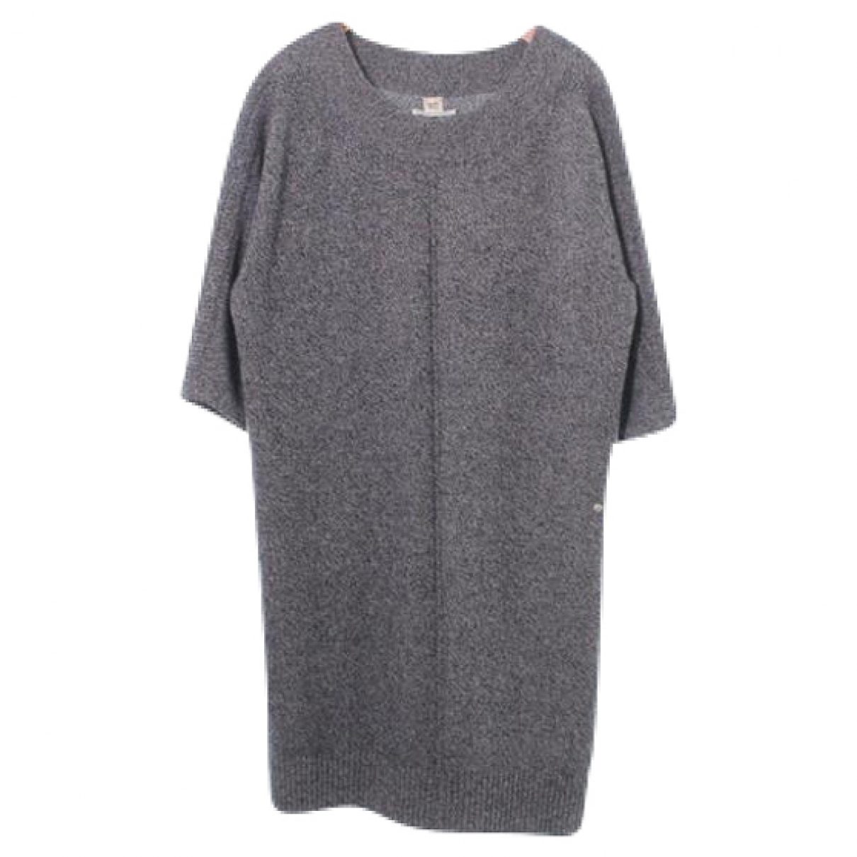 Hermès \N Grey Cashmere dress for Women 34 FR