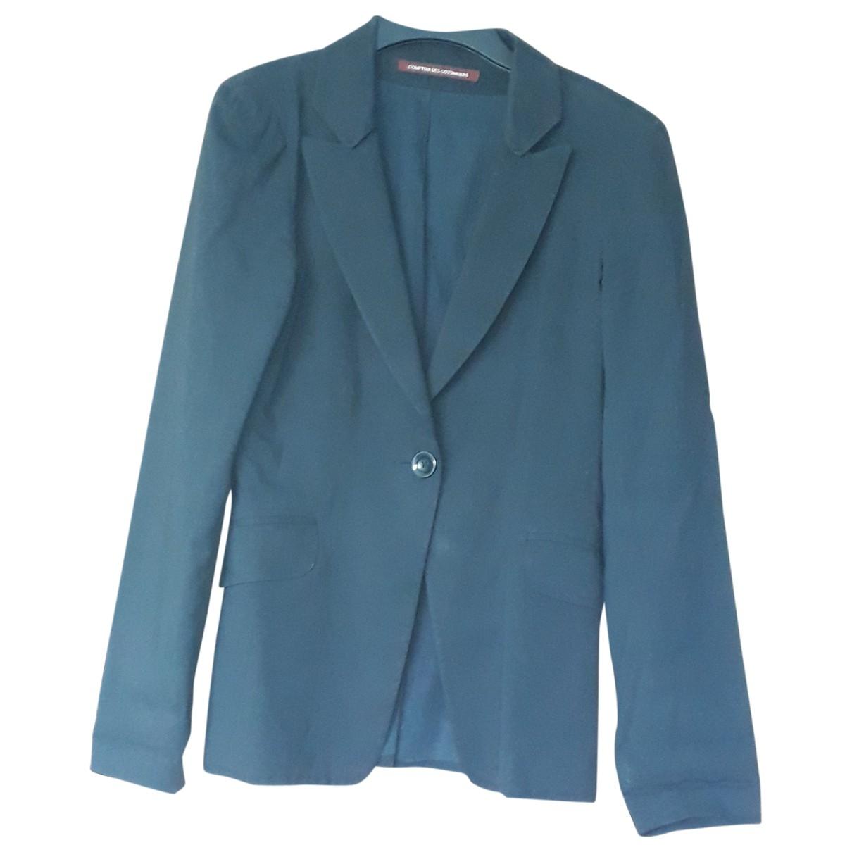 Comptoir Des Cotonniers \N Black Cotton jacket for Women 40 IT