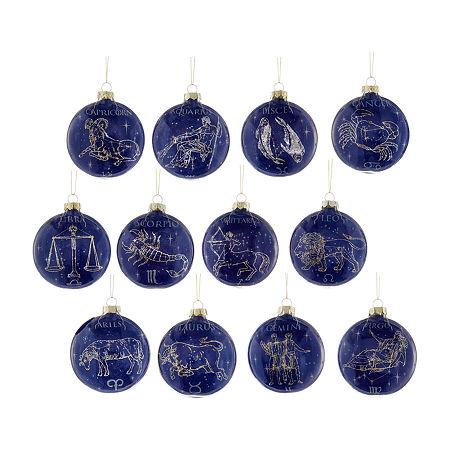 Kurt Adler 12-pc. Christmas Tree Christmas Ornament, One Size , Multiple Colors
