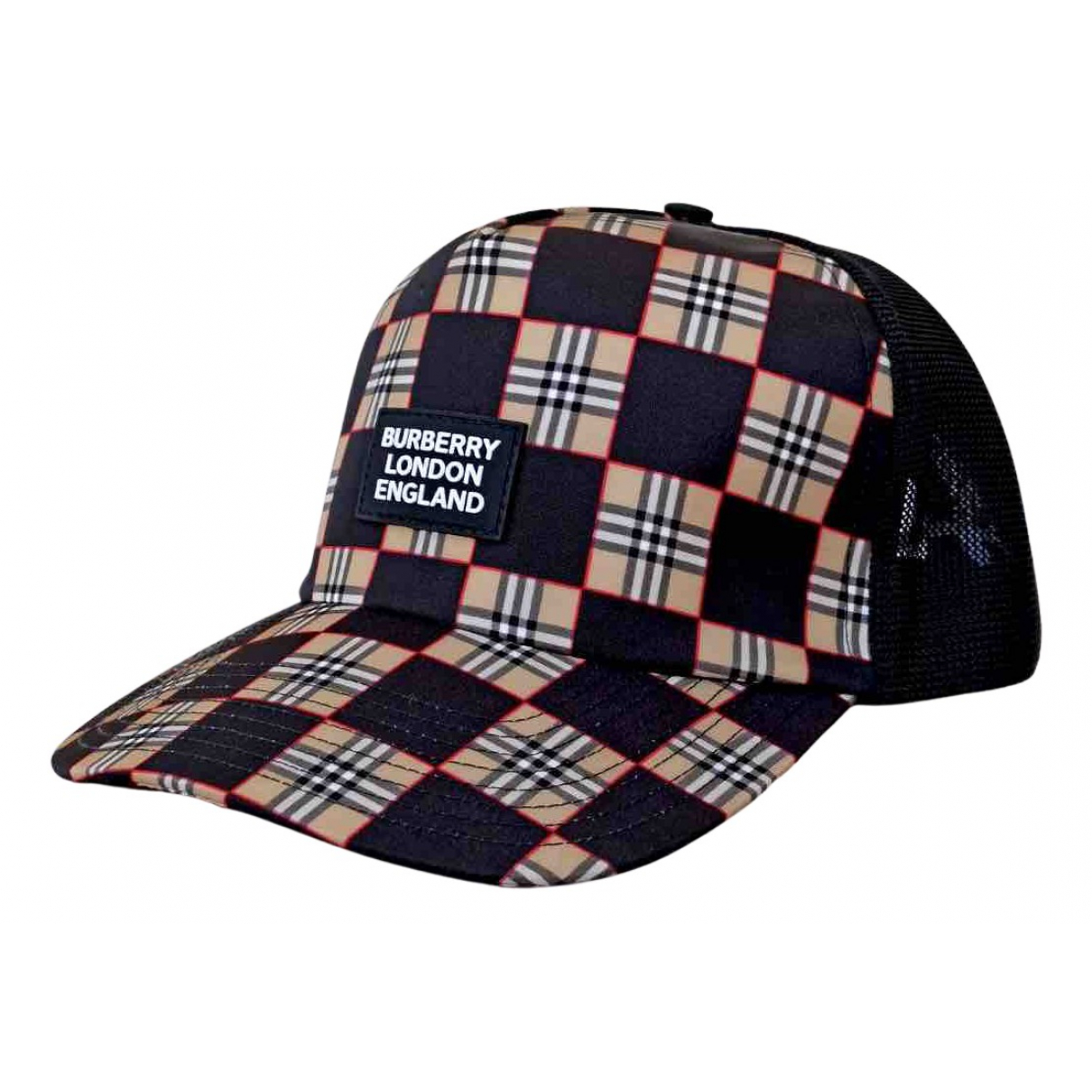 Burberry - Chapeau & Bonnets   pour homme en toile - multicolore