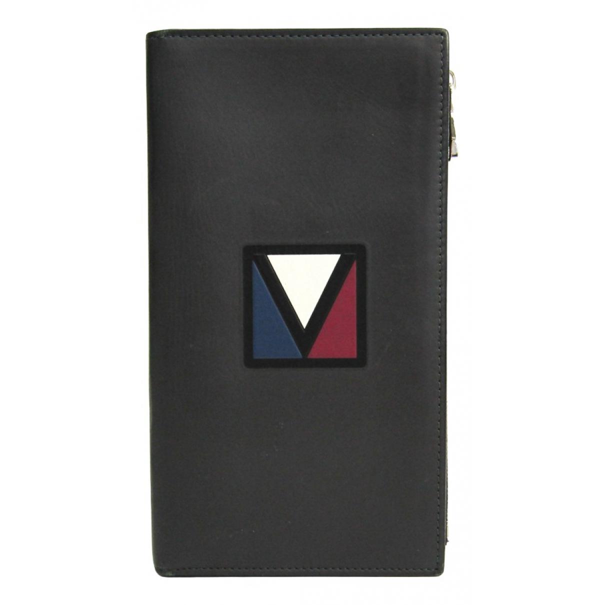 Louis Vuitton - Petite maroquinerie   pour homme en cuir - gris