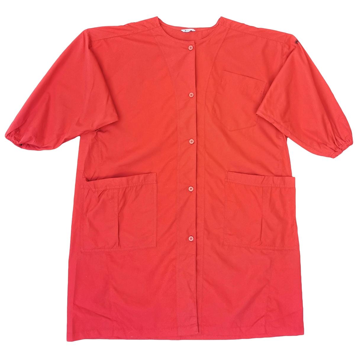 Issey Miyake - Vestes.Blousons   pour homme en coton - rouge
