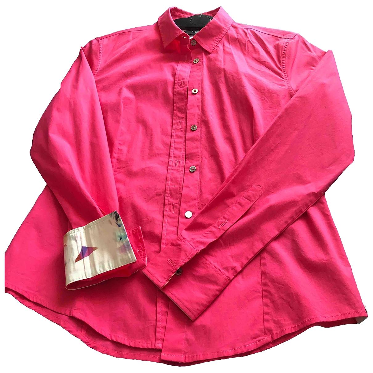 Paul Smith - Top   pour femme en coton - rose