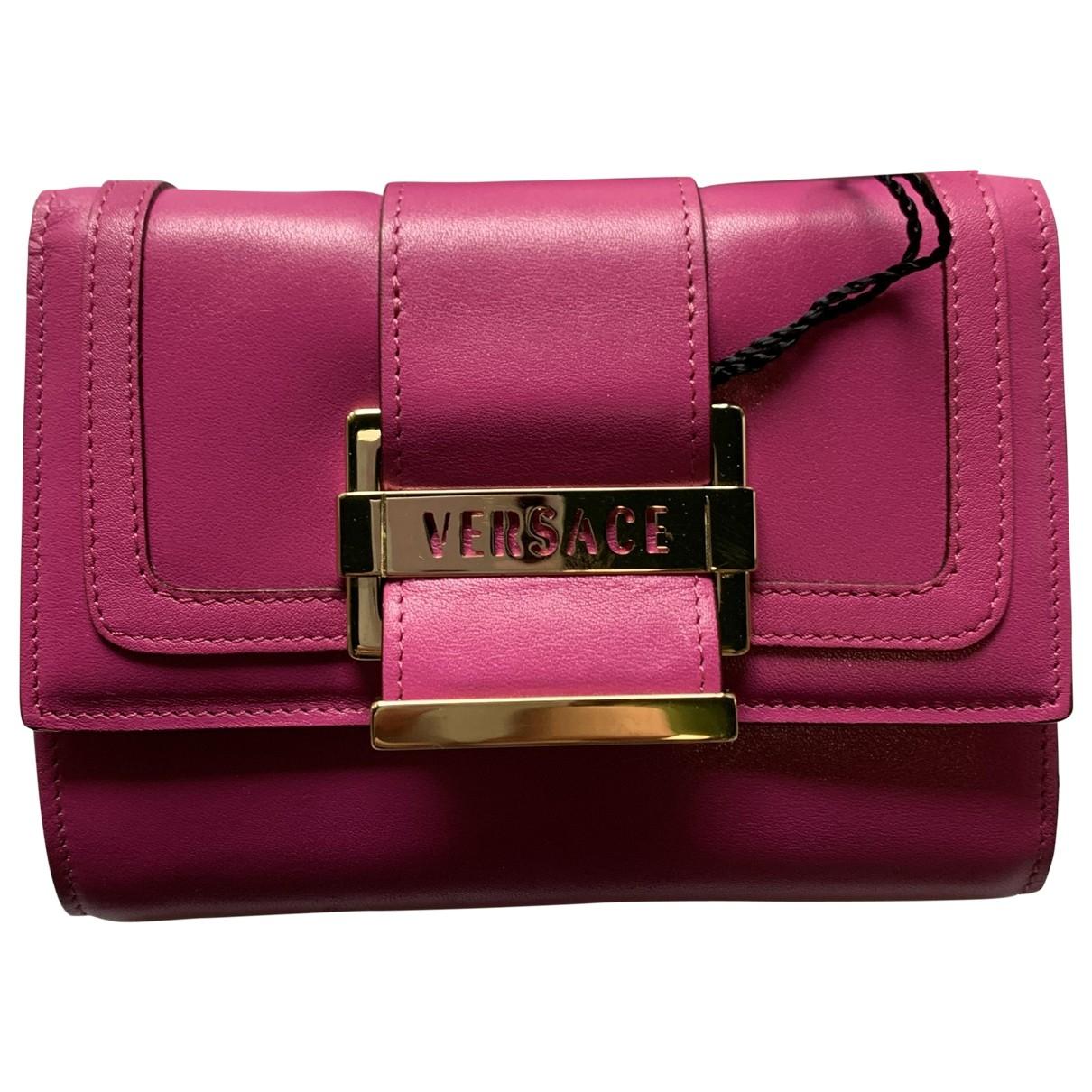 Versace - Portefeuille   pour femme en cuir