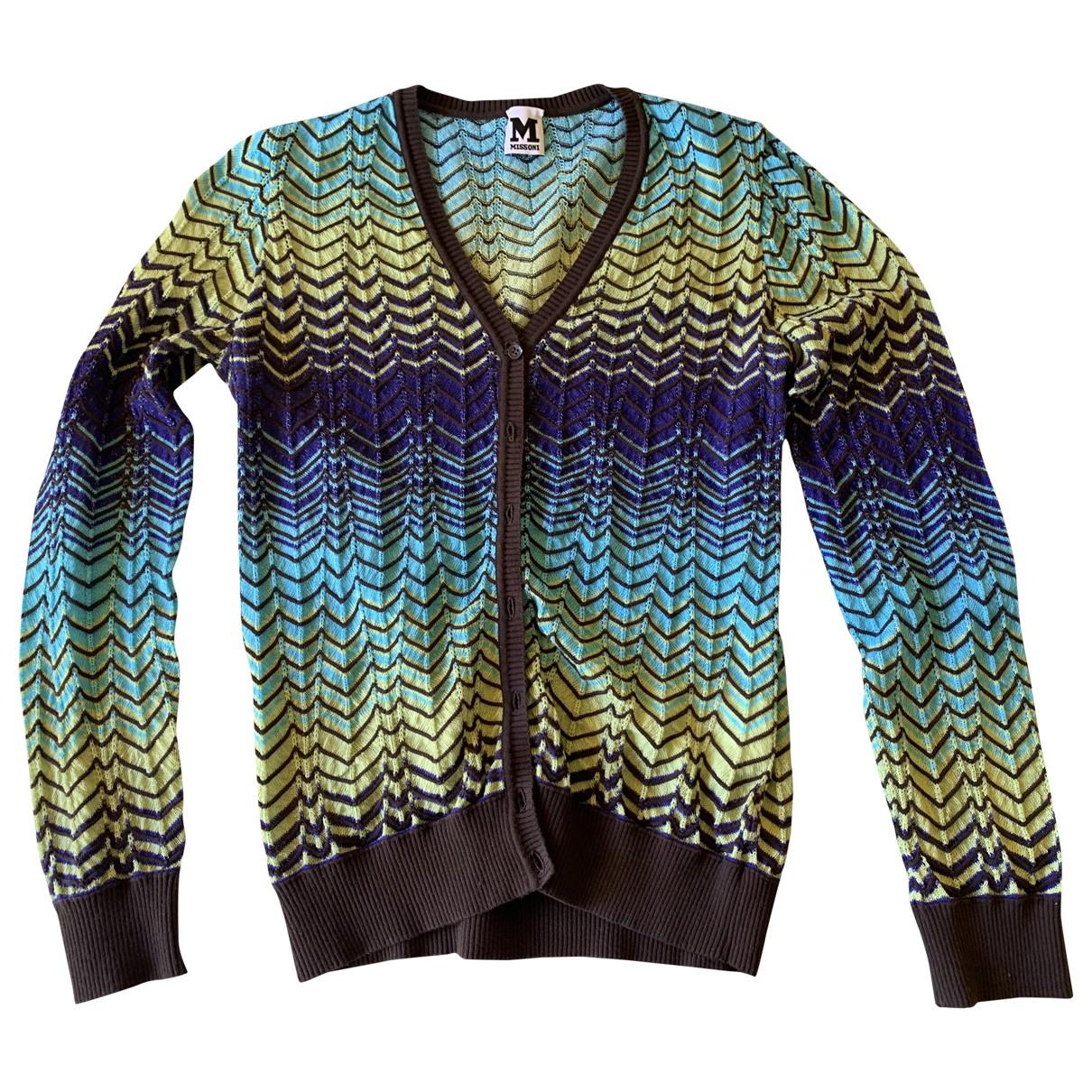 M Missoni - Pull   pour femme - multicolore