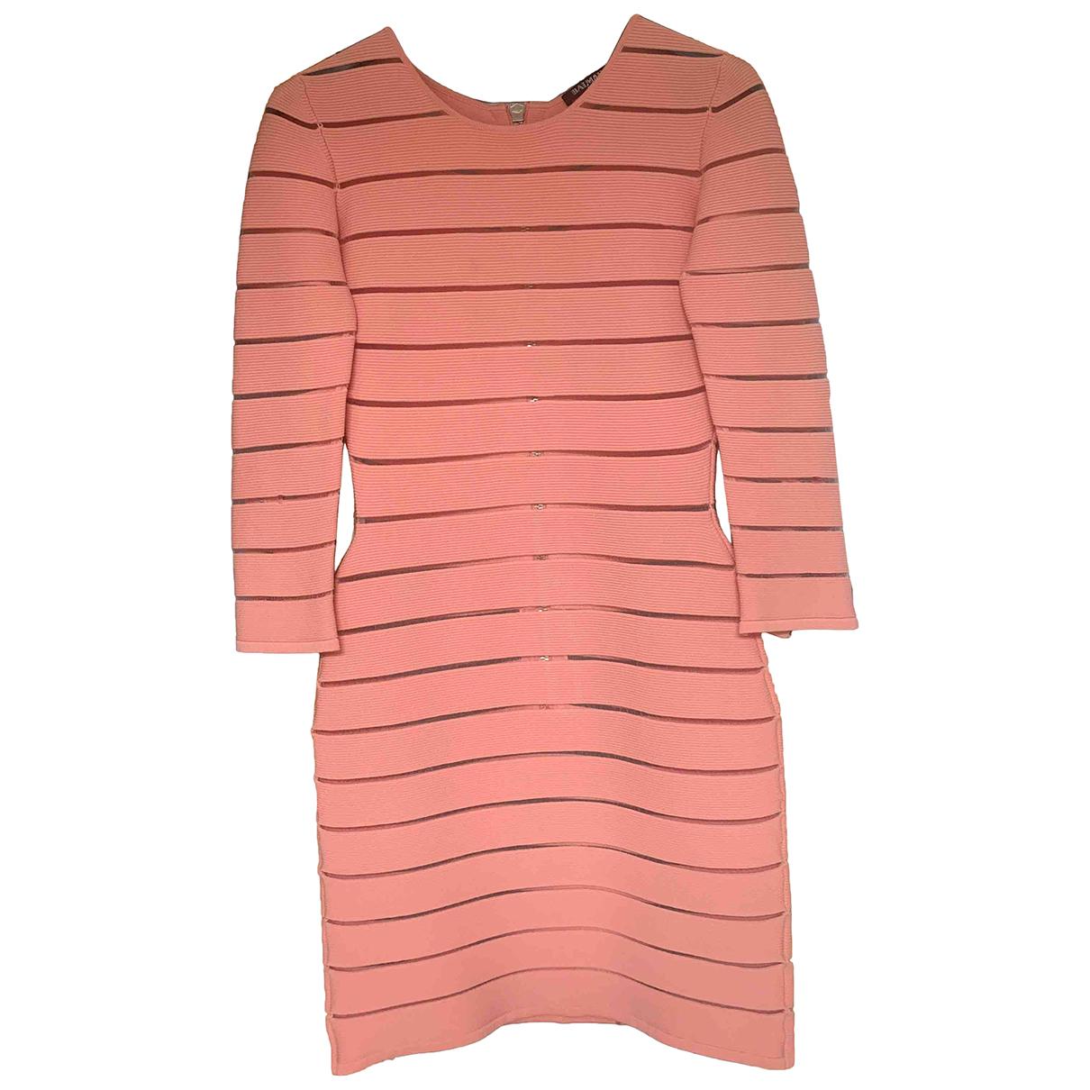 Balmain \N Pink dress for Women 36 FR