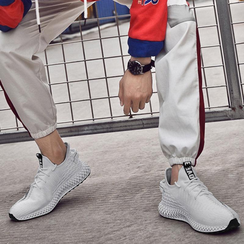 Ericdress PU Round Toe Men's Sneakers