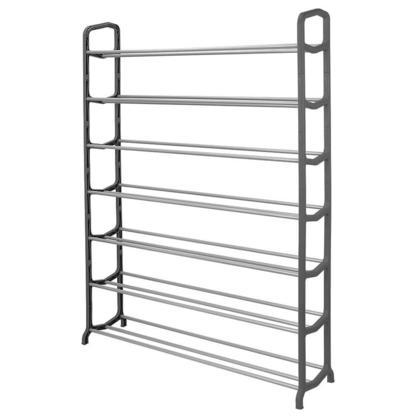 7-Tier SortWise ® Shoe Rack Metal Shoe Tower 35-Pair Shoe Storage Organizer Unit Entryway Shelf