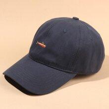 Whale Embroidery Baseball Cap