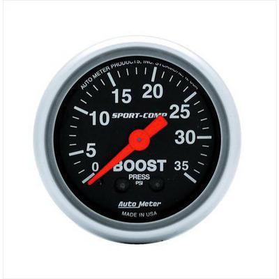 Auto Meter Sport-Comp Mechanical Boost Gauge - 3304