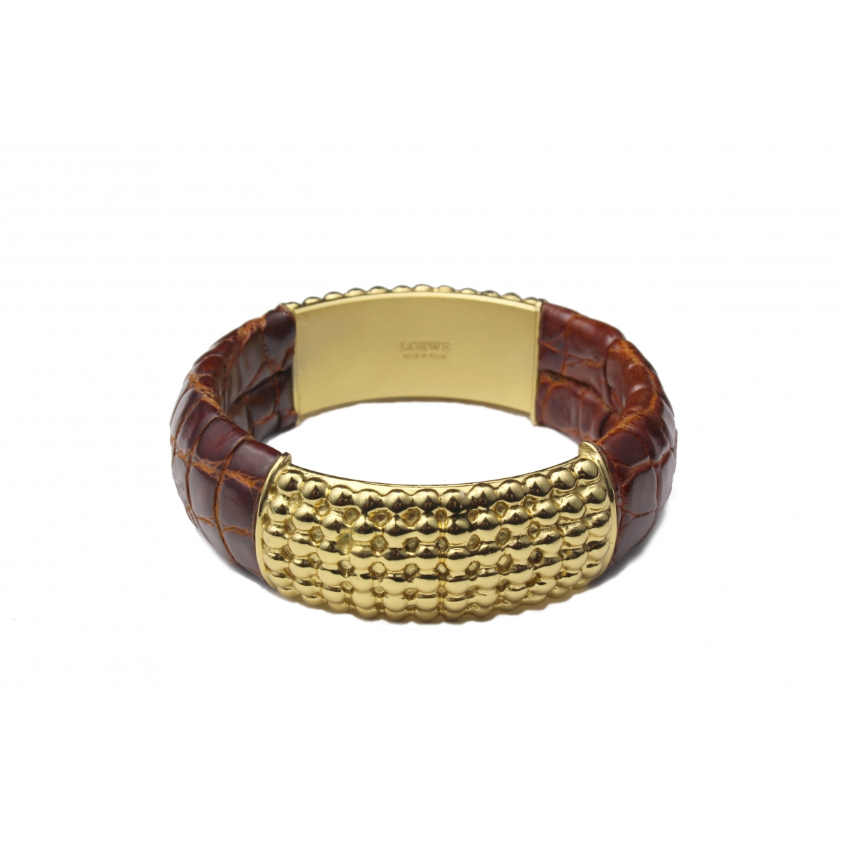 Loewe \N Crocodile bracelet for Women \N