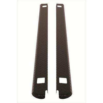 Dee-Zee Black-Tread Side Bed Caps - DZ11986B