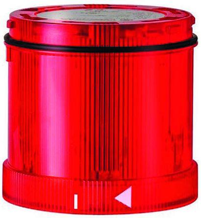 Werma KombiSIGN 71 Beacon Unit Red LED, Steady Light Effect 230 V ac