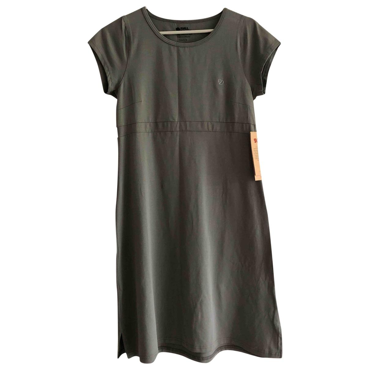 Fjallräven \N Grey Cotton dress for Women S International