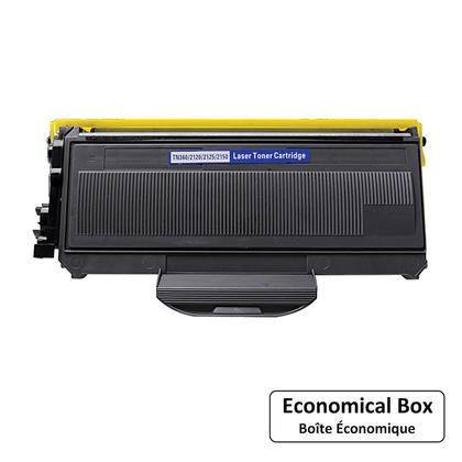 Compatible Brother TN360 Black Toner Cartridge - Economical Box