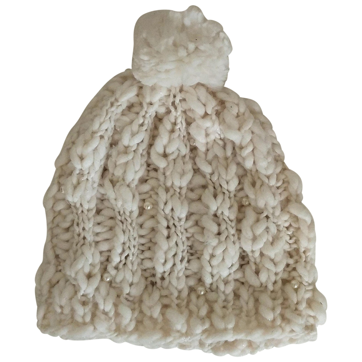 - Chapeau   pour femme en laine - blanc