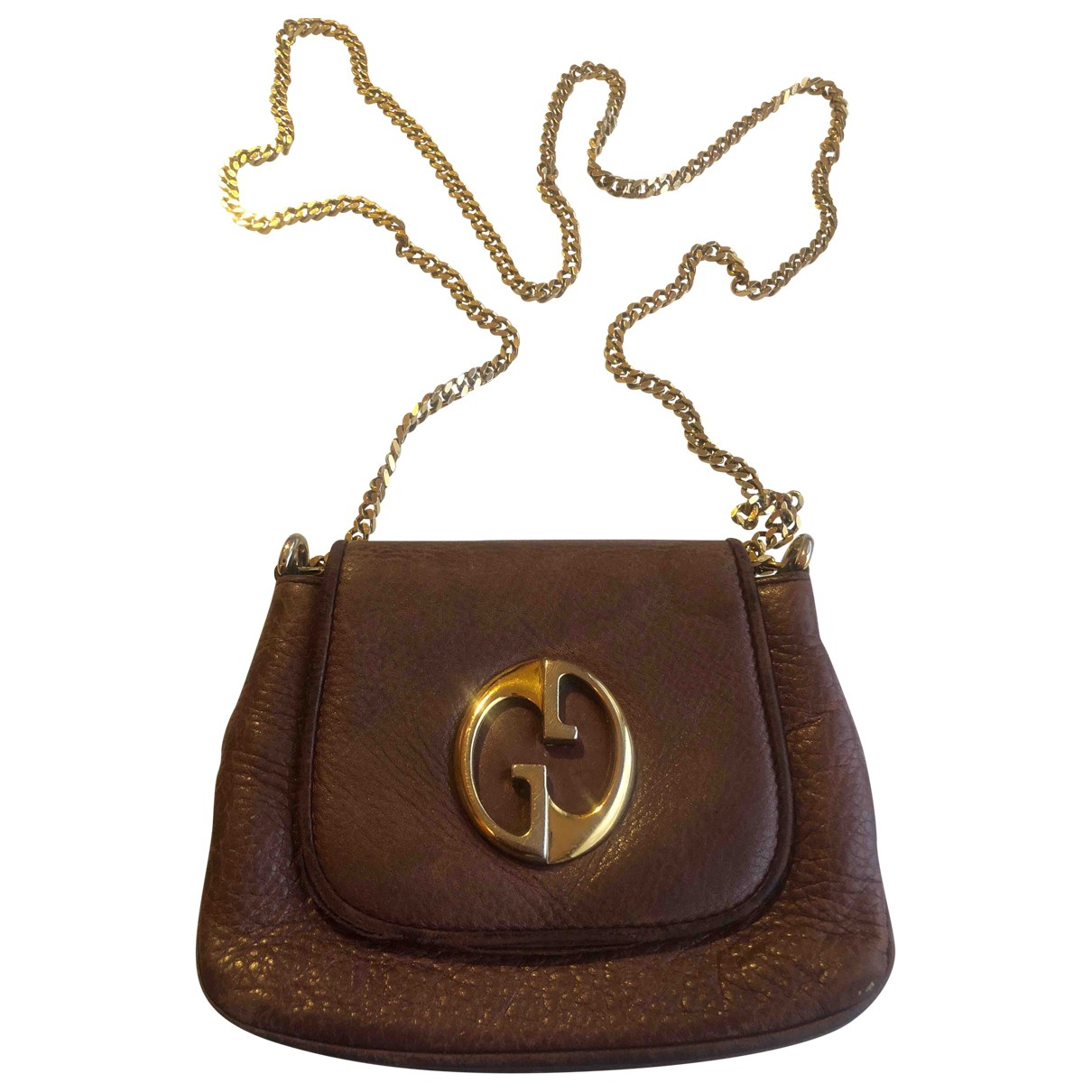 Gucci 1973 Handtasche in  Metallic Leder