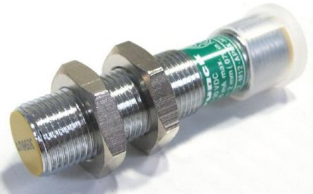 Turck M12 x 1 Inductive Sensor - Barrel, PNP-NO Output, 2 mm Detection, IP67, M12 - 4 Pin Terminal