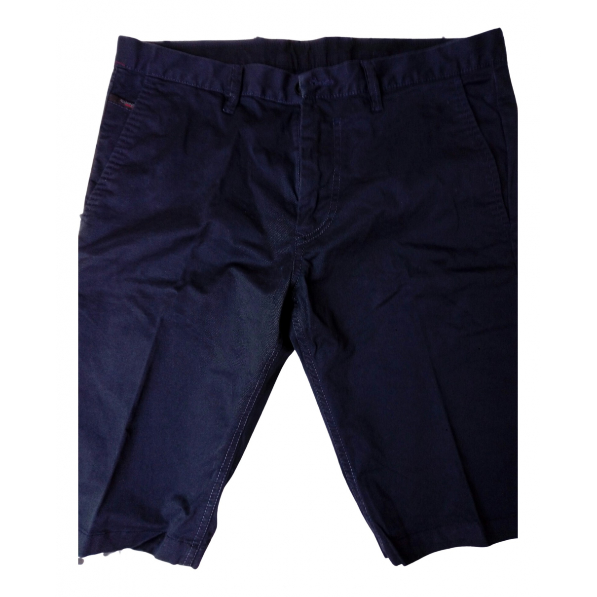 Diesel \N Blue Cotton Shorts for Men 30 UK - US