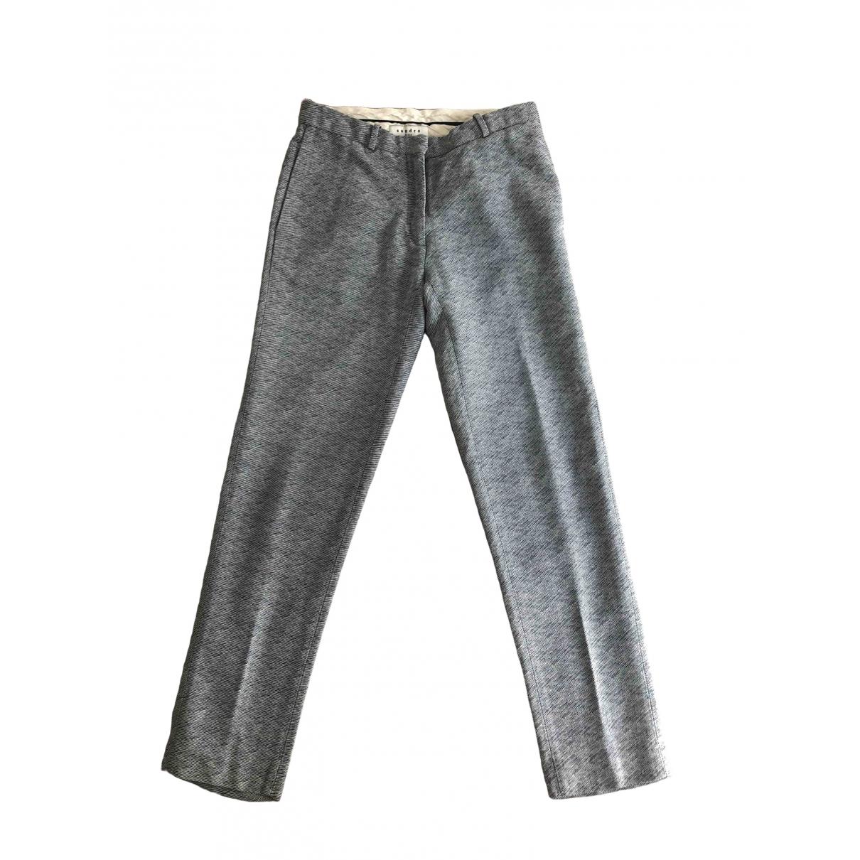 Pantalon de traje Sandro