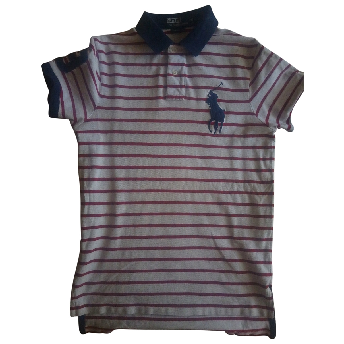 Polo Ralph Lauren - Polos Polo Rugby manches courtes pour homme en coton - blanc
