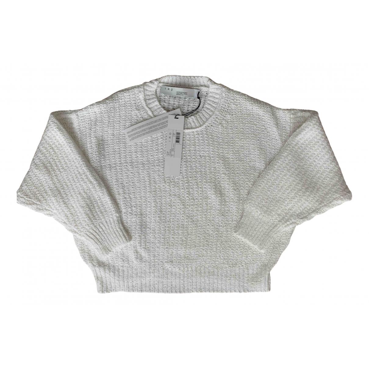 Iro \N Pullover in  Weiss Baumwolle