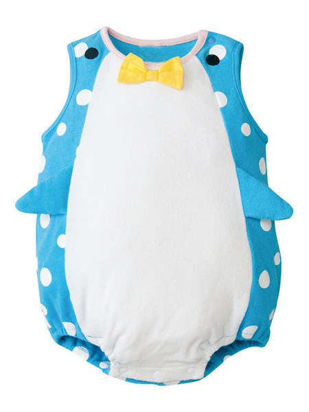 Milanoo Infant Penguin Dolphin Cosplay Costume Kids Baby Clothes Halloween Child Outfits