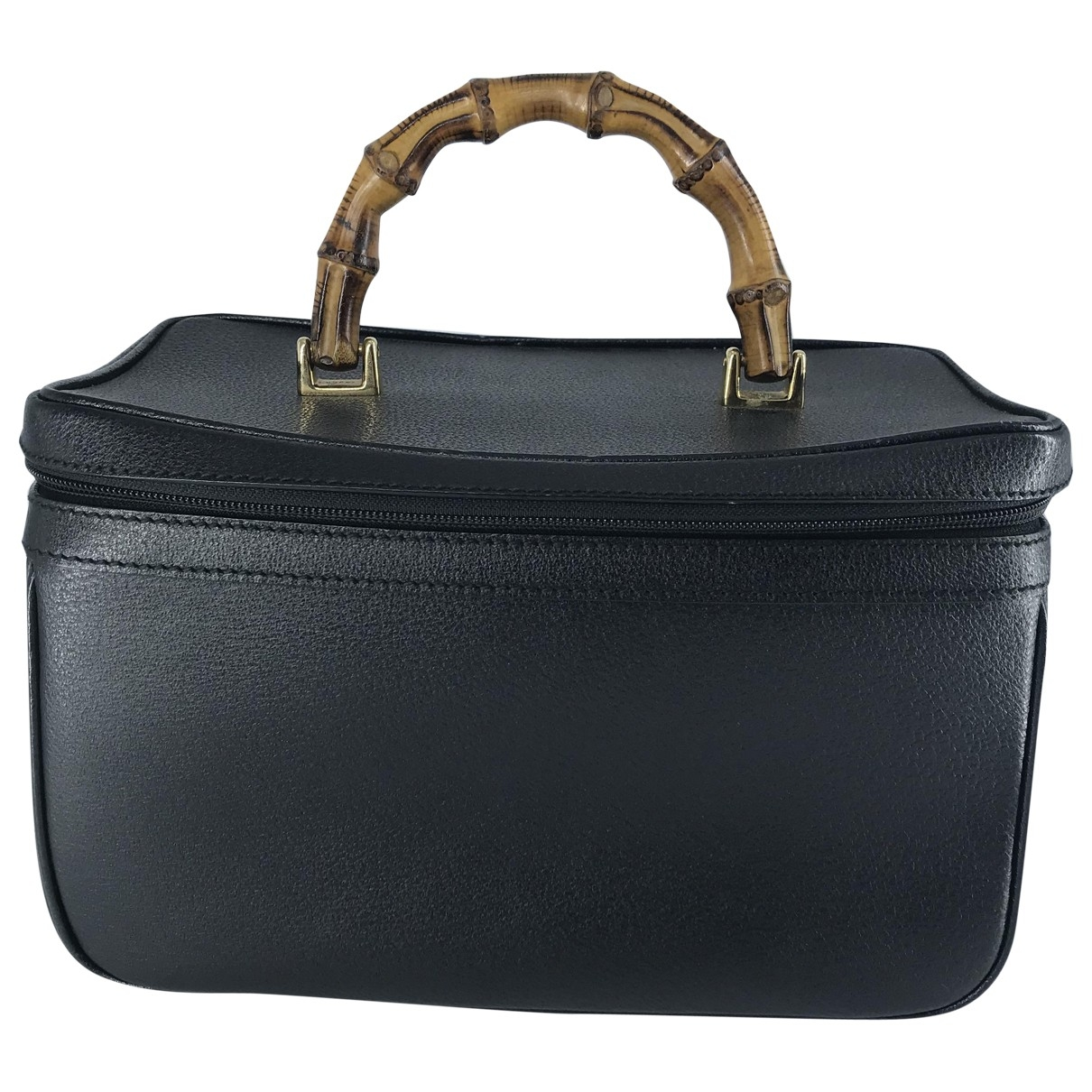 Gucci Bamboo Black Leather Travel bag for Women \N