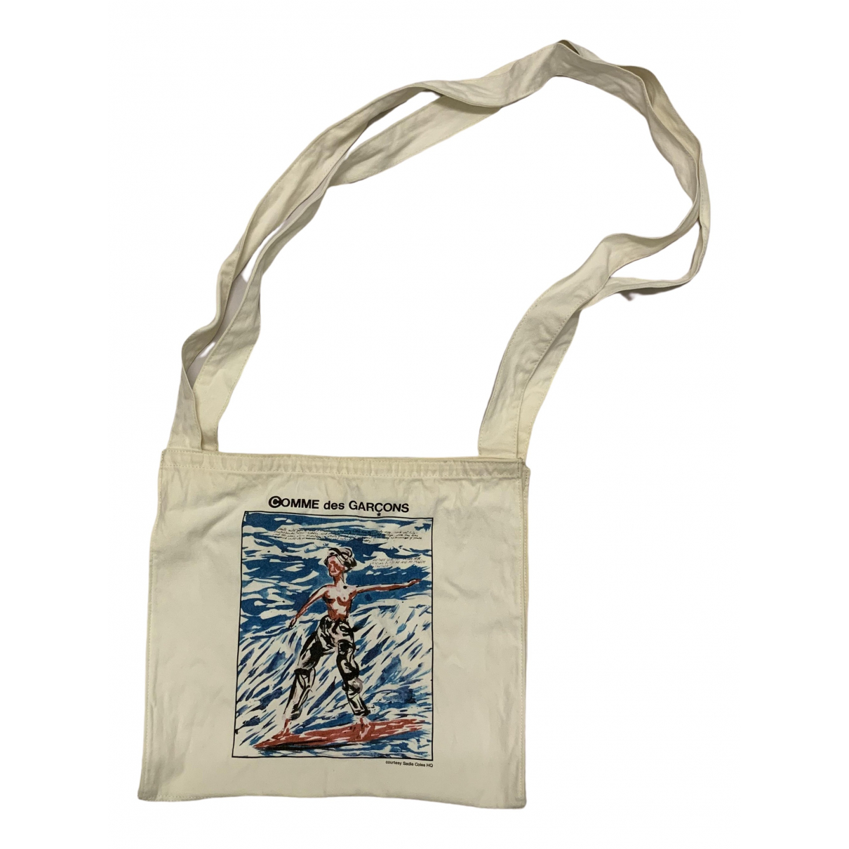 Comme Des Garcons \N White Cotton bag for Men \N