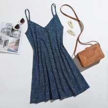 Ditsy Floral Print Cami Dress