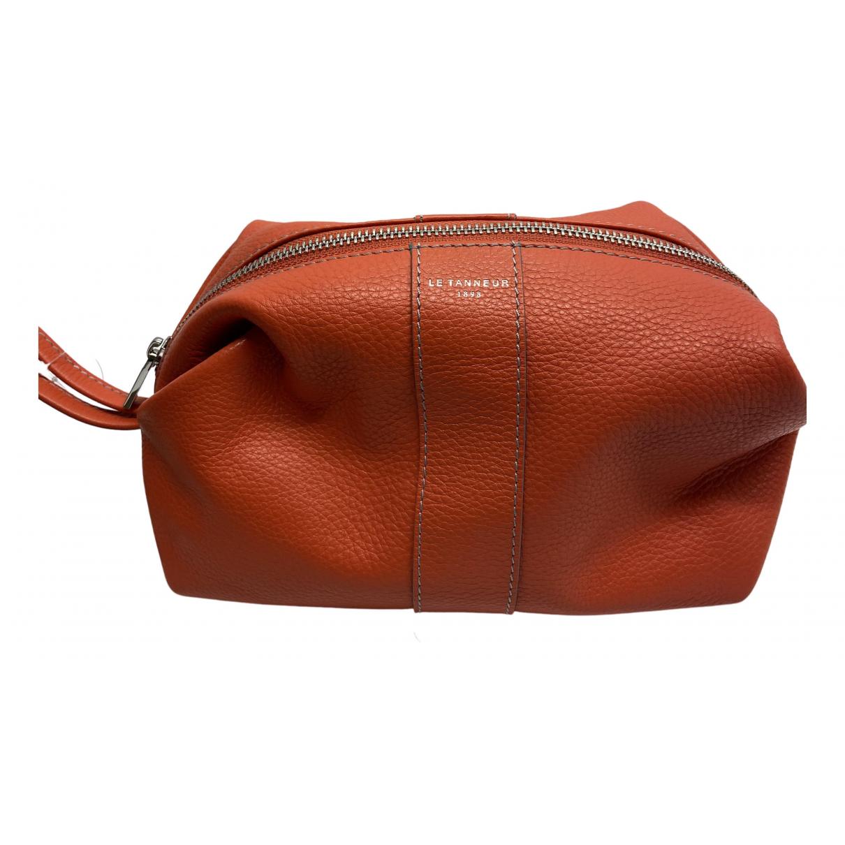 Le Tanneur N Orange Leather Purses, wallet & cases for Women N