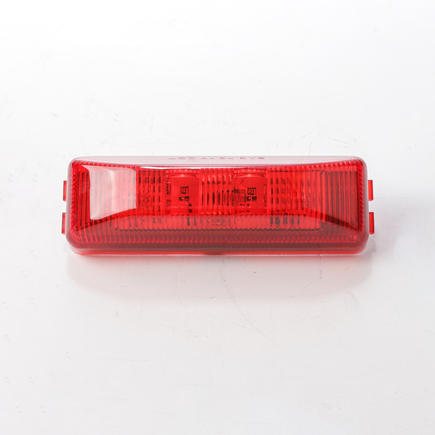 Hd Value HDV1901R - 3.75 Rectangular Slim Line Red Marker/Clearance...