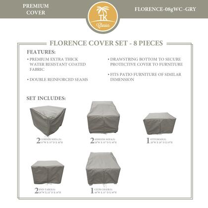 FLORENCE-08gWC-GRY Protective Cover Set  for FLORENCE-08g in