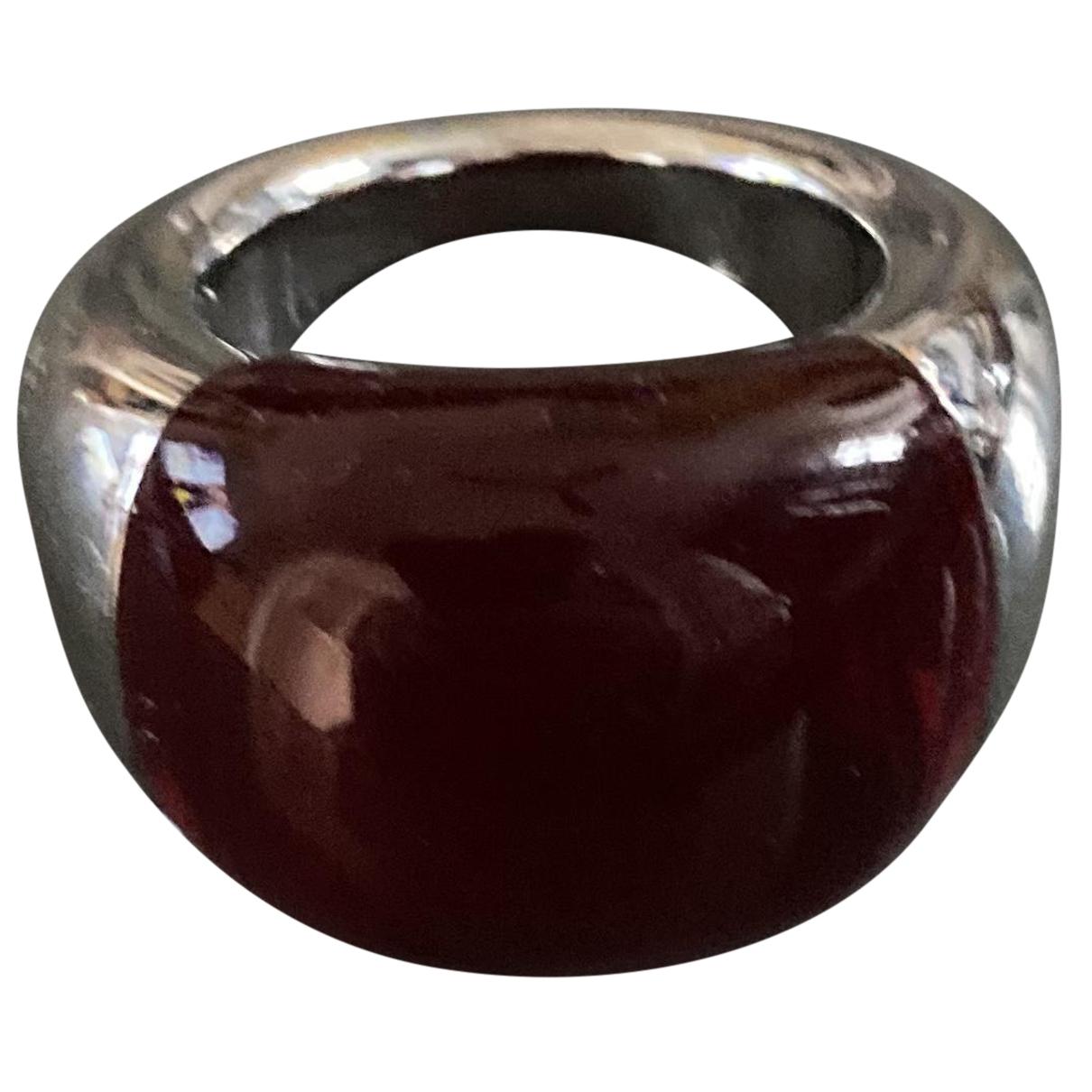 Calvin Klein N Red Metal ring for Women 58 EU