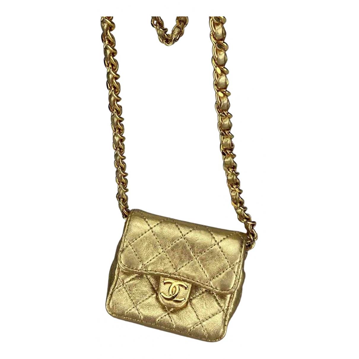 Collar de Cuero Chanel
