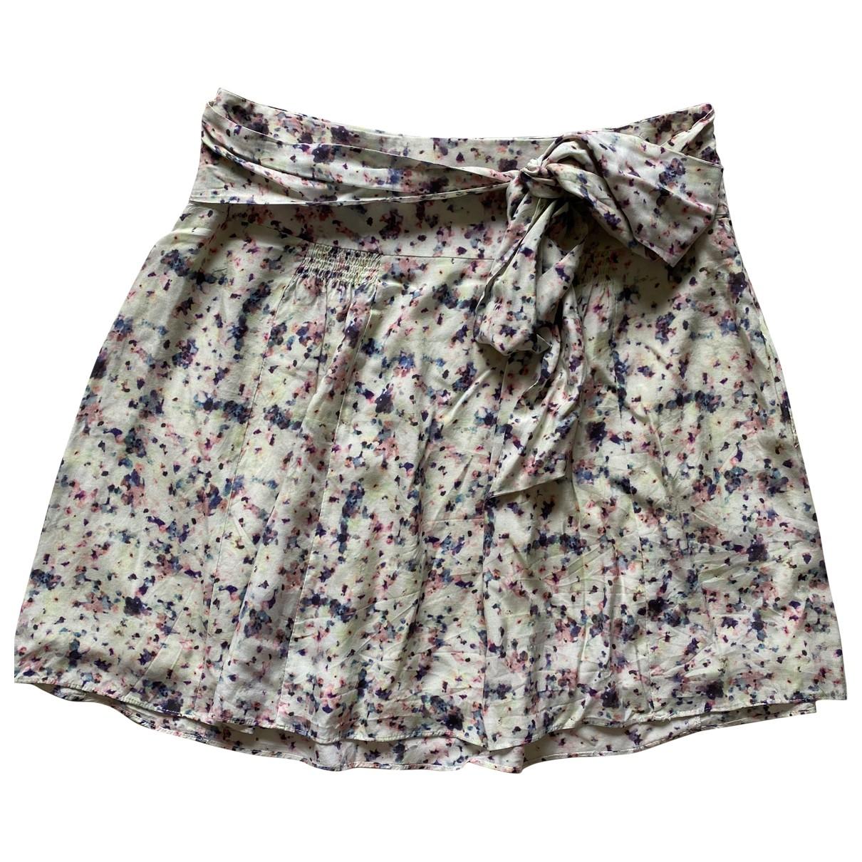 Sud Express N Multicolour Silk skirt for Women 36 FR