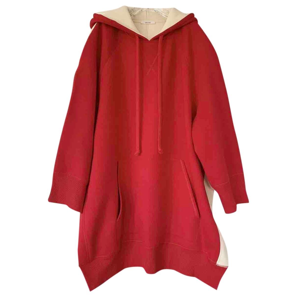 Celine \N Red Cotton Knitwear for Women S International