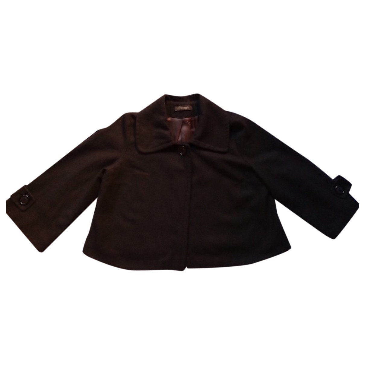 Non Signé / Unsigned \N Brown Wool jacket for Women 40 FR