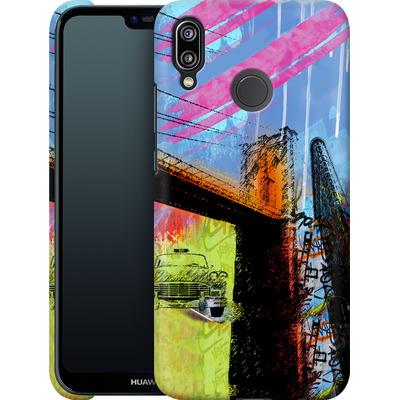 Huawei P20 Lite Smartphone Huelle - Pop Brooklyn Bridge von Mark Ashkenazi