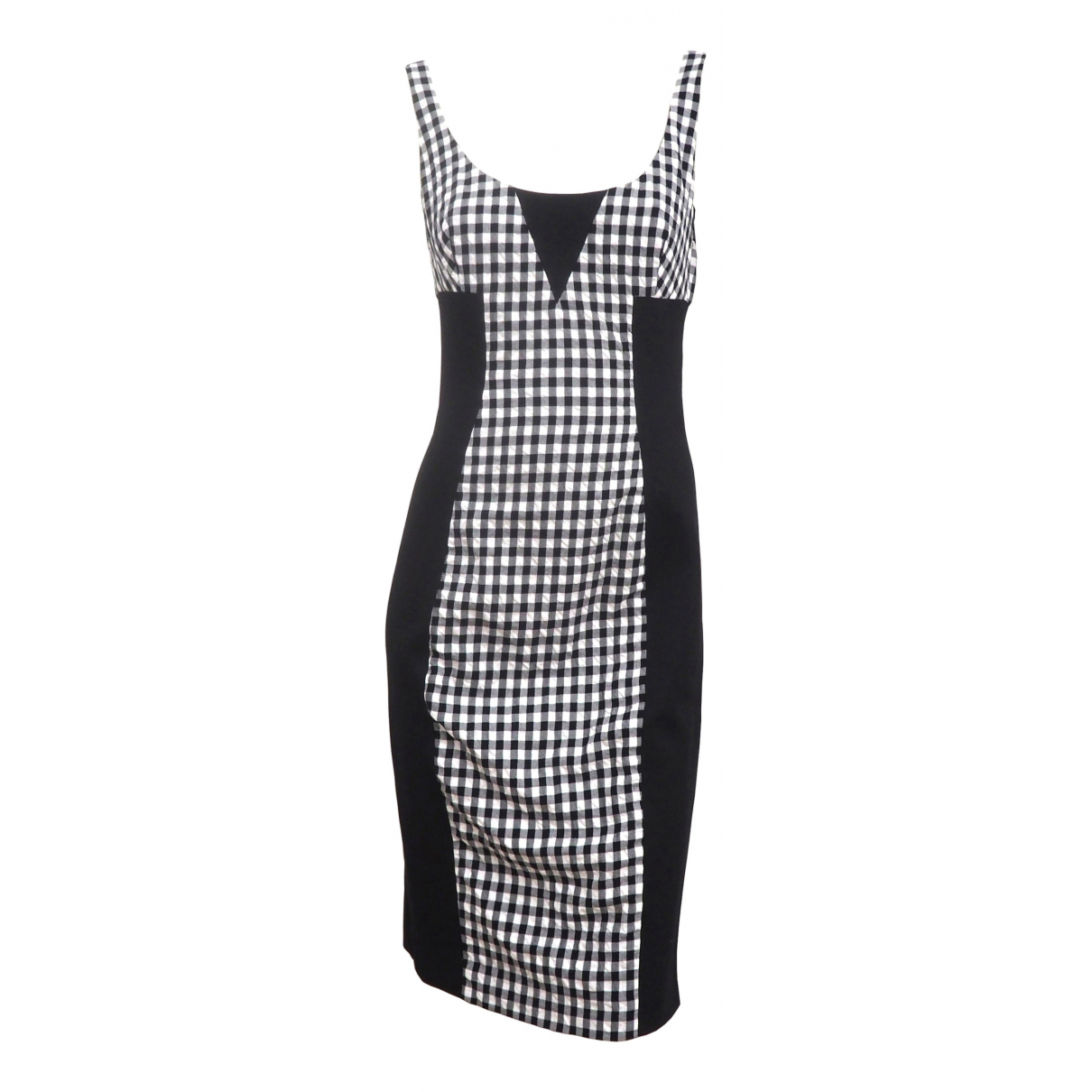 Versace \N Black Cotton dress for Women 42 IT