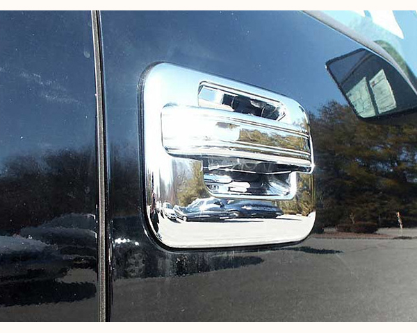 Quality Automotive Accessories ABS | Chrome Door Handle Cover Kit Ford F-150 2011