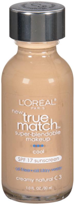 True Match Super-Blendable Foundation Makeup - Creamy Natural