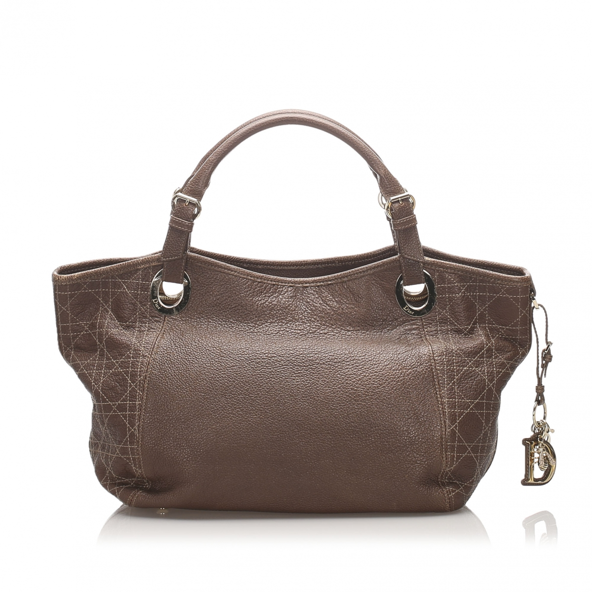 Dior \N Brown Leather handbag for Women \N