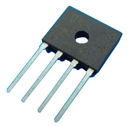 HY Electronic Corp D2KB10, Bridge Rectifier, 2A 1000V, 4-Pin D3K (30)