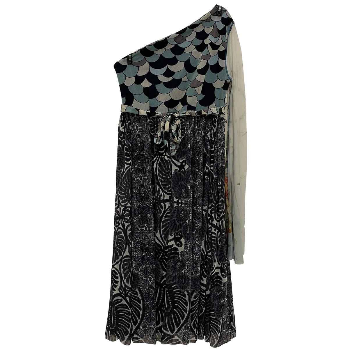 Jean Paul Gaultier \N Kleid in  Bunt Synthetik