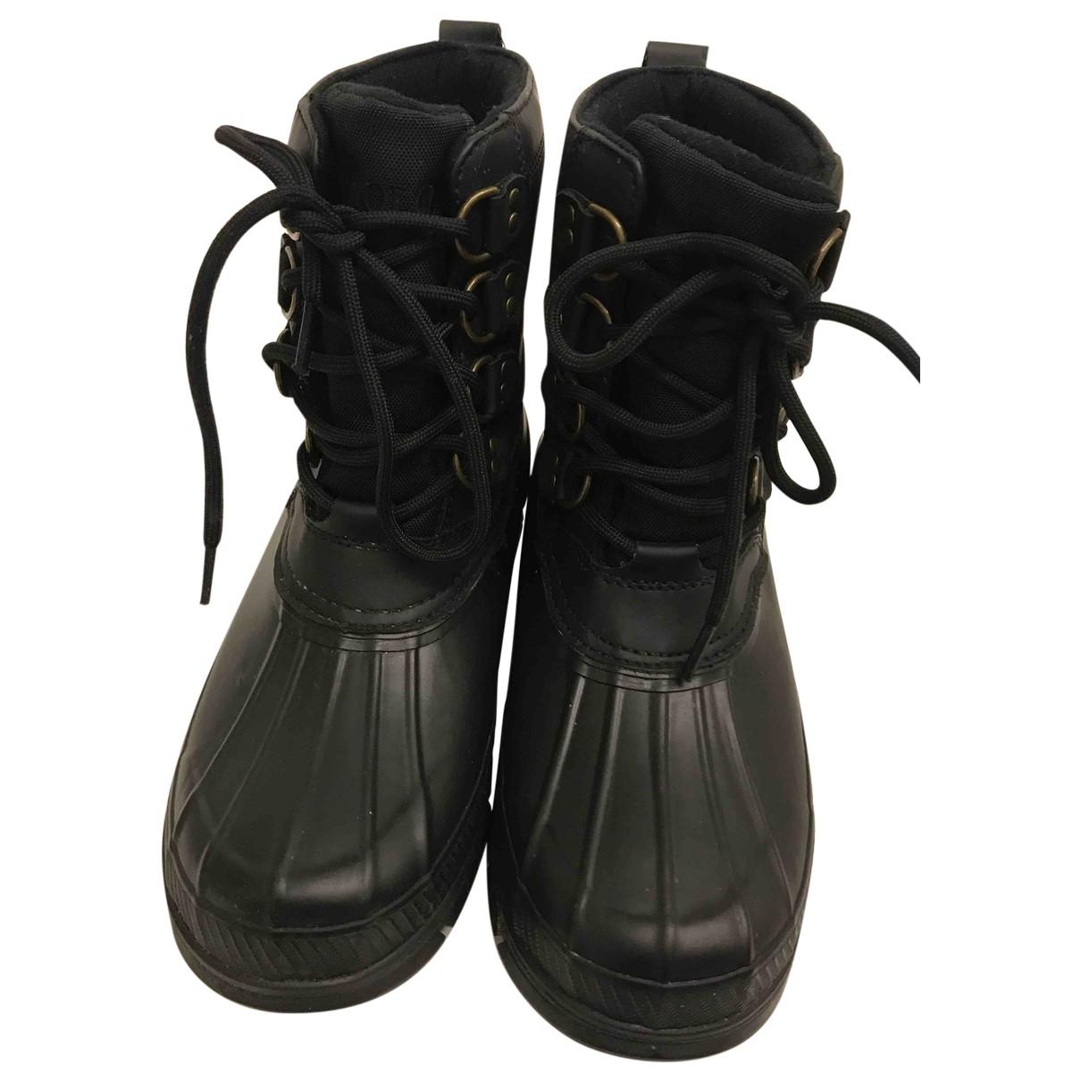Polo Ralph Lauren \N Black Boots for Men 41 EU