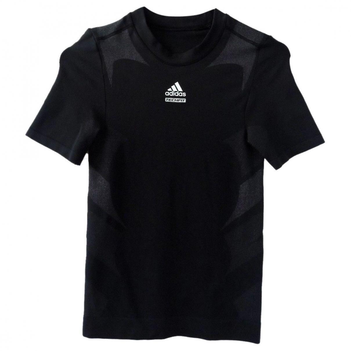 Adidas \N Top in  Schwarz Synthetik