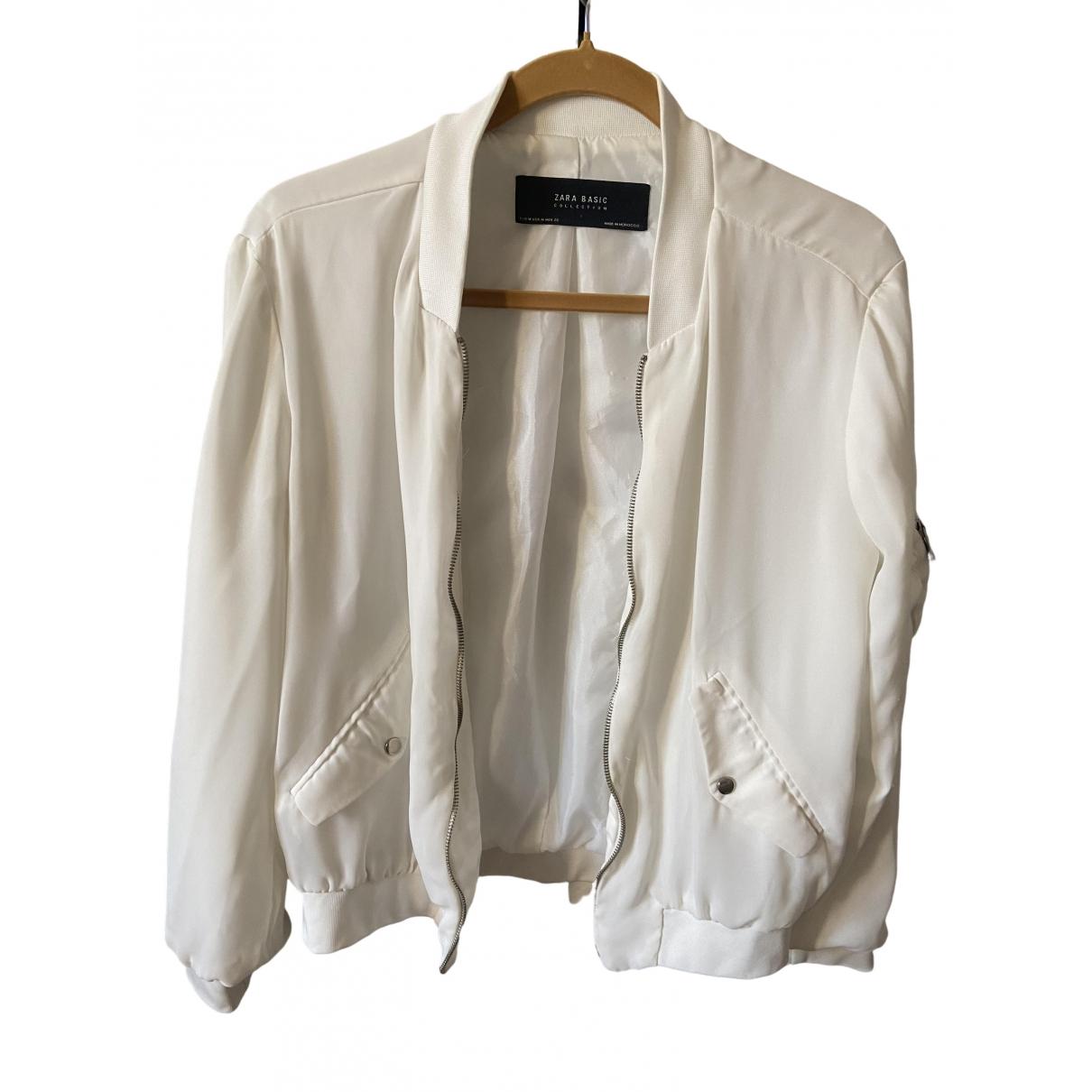 Zara \N White jacket for Women M International