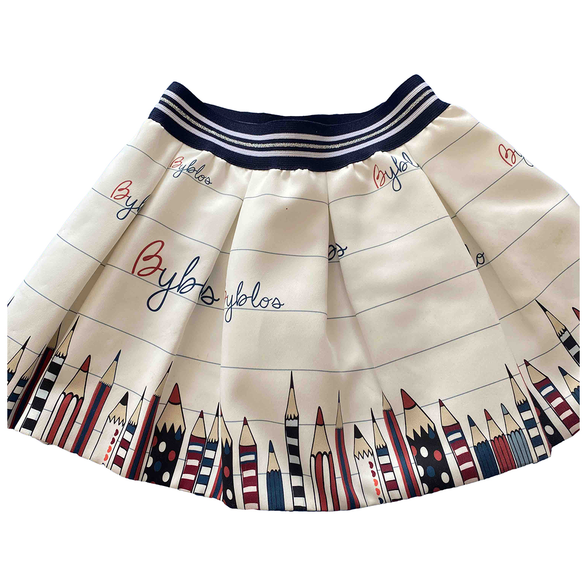 Byblos N White skirt for Kids 4 years - up to 102cm FR