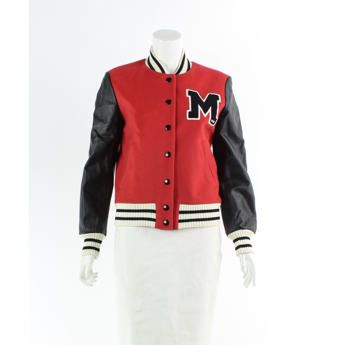 Moschino \N Red Wool jacket for Women 38 IT